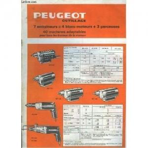 Catalogue des accessoires et outillages Peugeot