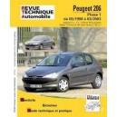 Revue Technique Peugeot 206 phase 1