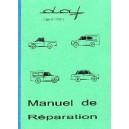 Manuel de réparation mécanique carrosserie et élec