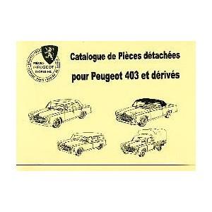 Catalogue de pièces,mécanique,carrosserie et elect