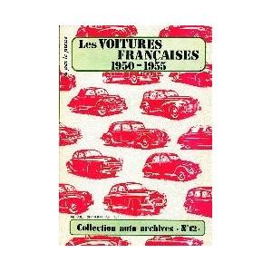 Les Voitures Francaises 1950 à 1955