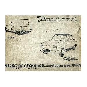 Catalogue de pieces ,mecanique ,carrosserie