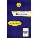 Notice d entretien Dauphinoise (Reproduction)