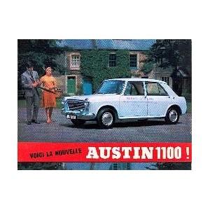 Voici la nouvelle Austin 1100
