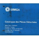 Catalogue de pièces, Simca 1200 S