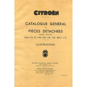 Catalogue de pièces, mécanique, chassis, électricité