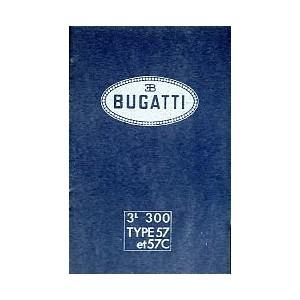 Notice d' entretien Bugatti Type 57
