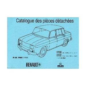 Catalogue de pièces, R 1130 et 1132 (2)