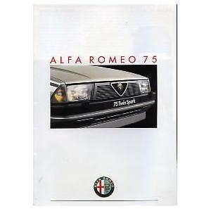 Alfa 75  année1988