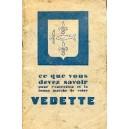 notice d entretien Ford Vedette 51