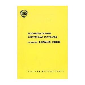Documentation Technique d' atelier Lancia 2000