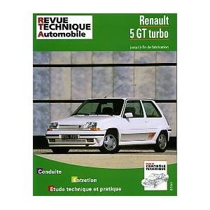 Revue Technique R5 GT Turbo
