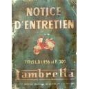 Notice d entretien scooter Lambretta