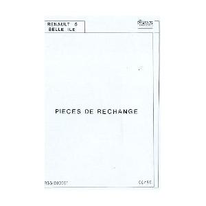 Catalogue de pièces (Belle Ile)