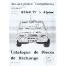 Catalogue de pièces Compétition