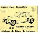 Catalogue de piéces Kit Cévennes