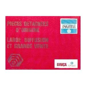 Identification de piéces Large Diffusion