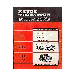 Revue Technique, RTA (Essence jusqu' à 1984)