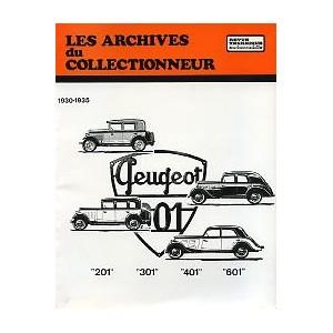 Revue Technique Peugeot 201, 301, 401 et 601