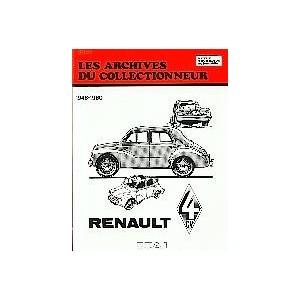 Revue technique Renault 4 CV