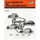 Revue Technique, Archives du Collectionneur