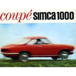 Coupé Simca 1000