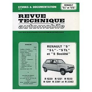 Revue Technique, RTA (R5 L et TL)