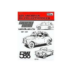 Revue Technique Fiat 500, Archives du Collectionneur