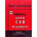 Livret d entretien Farmall Super CUB