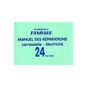 Manuel de réparation Carrosserie et électricité
