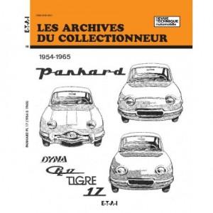 Revue Technique Panhard PL 17 et Dyna Z