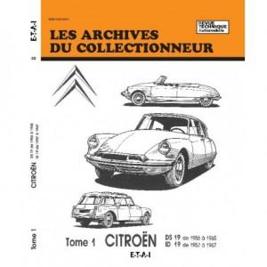 Revue Technique Citroen DS 19 et ID 19