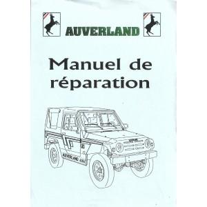 Manuel de réparation Auverland