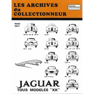 Revue technique Jaguar Type E (moteur 6 cylindres)