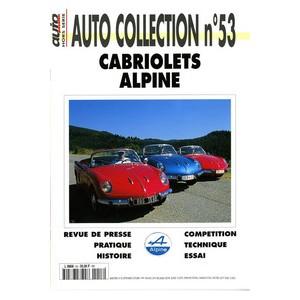 Cabriolets Alpine : Autocollection N° 53