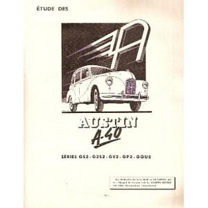Revue technique,RTA, Austin A 40