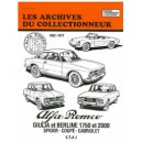 Revue Technique, Alfa  Roméo Giulia