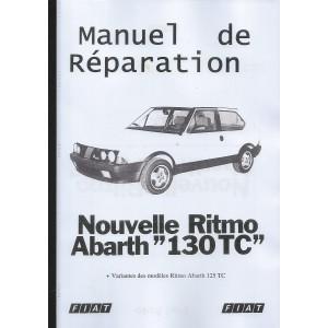 Manuel de réparation Abarth 130 TC