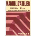 Manuel de Réparation Honda Civic 1992
