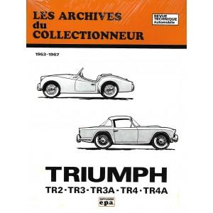 Revue Technique Triumph TR 2 TR 3 et TR 4