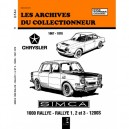 Revue Technique Simca 1200 S