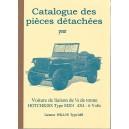 Catalogue de Pièces Détachées (Jeep Hotchkiss)