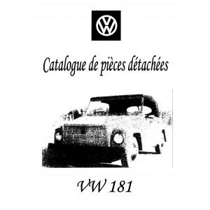 Catalogue de pièces de rechanges