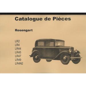 Catalogue de pièces