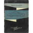 Notice d entretien Karmann - Ghia de 1962