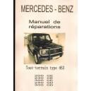 Manuel de réparation Mercedes G, type 463