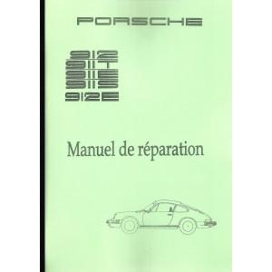 Manuel de réparation Porsche 912