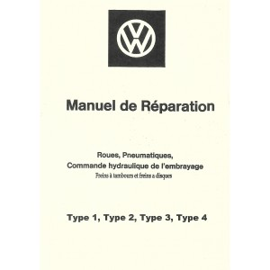 Manuel de réparation (freins 1963)