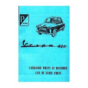 Catalogue de pièces, mécanique et carrosserie